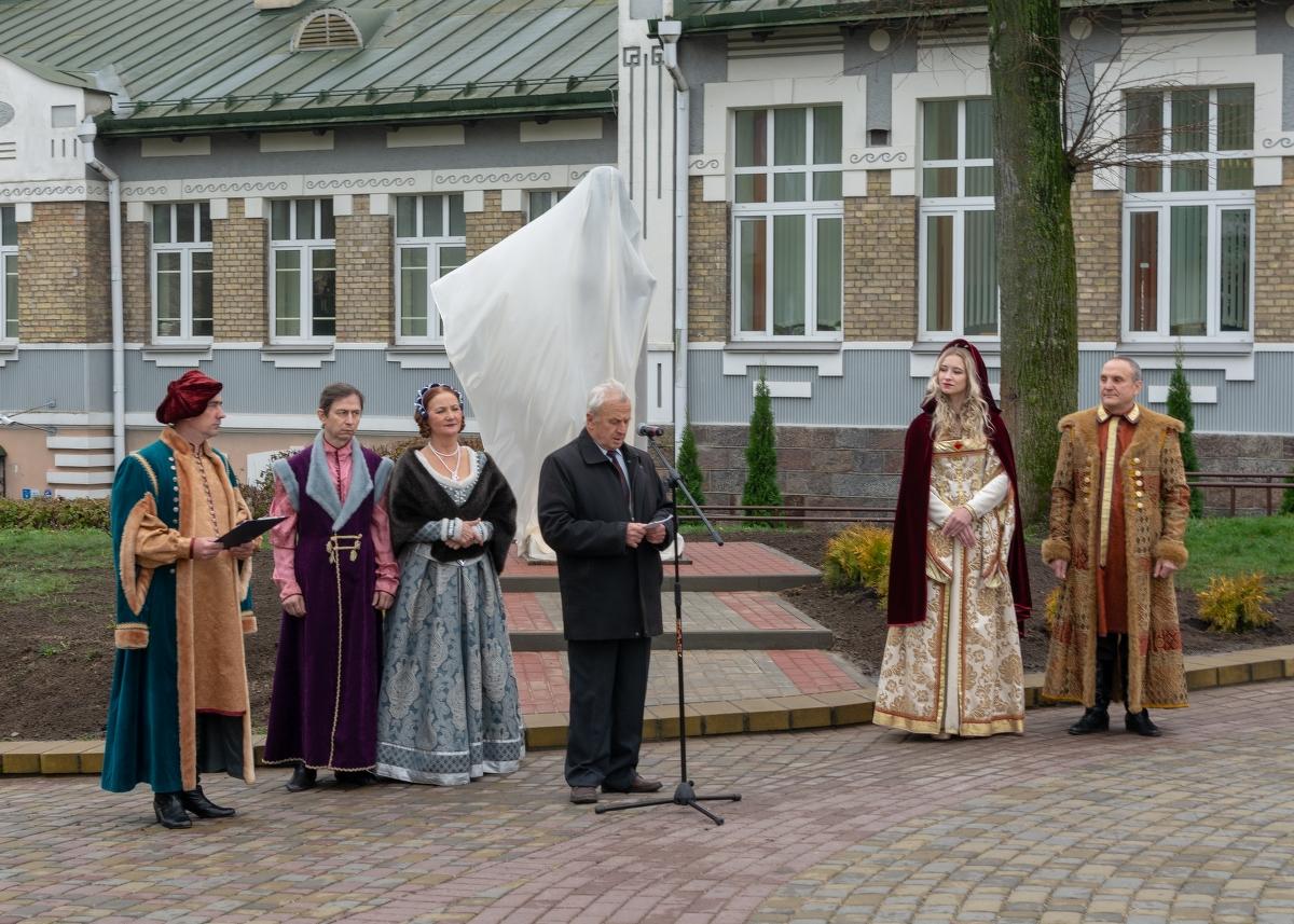 Открытие памятника-бюста Михаилу Казимиру Огинскому